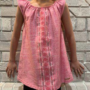 ⭐Girl's Summer Tunic Shirt HUDSON JEANS